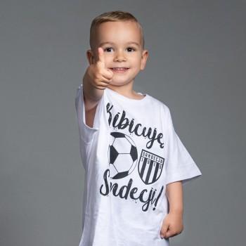 T-Shirt dziecięcy biały wzór 1